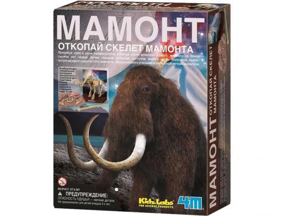 Игровой набор 4M Скелет Мамонта 23 предмета 00-03236 4m скелет мамонта 4м