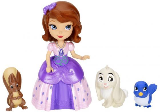 Игровой набор Mattel Sofia the First София и друзья животные №7 7.5 см Y6640 игровой набор sofia the first друзья софии