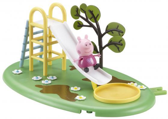 Игровой набор Peppa Pig Игровая площадка: горка Пеппы 28774 конструктор big игровая площадка peppa pig 57076