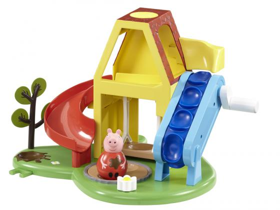 Игровой набор Peppa Pig Площадка Пеппы - неваляшки (с фигуркой Пеппы) 28795 peppa pig игровой набор площадка качели