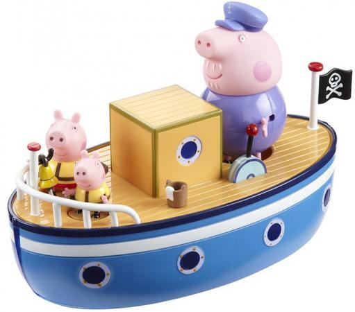 Игровой набор Peppa Pig Морское приключение, без мелков 4 предмета 15558 набор игровой peppa pig 10 см