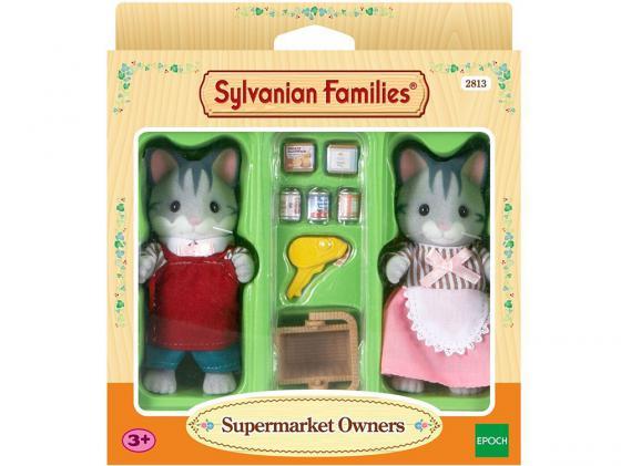 Игровой набор Sylvanian Families Владельцы супермаркета 2813 sylvanian families набор владельцы супермаркета
