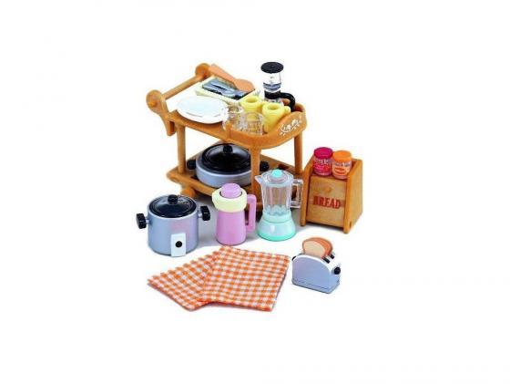 Игровой набор SYLVANIAN FAMILIES Кухонная посуда 30 предметов 2819 бусы из янтаря лечебные нян 6811