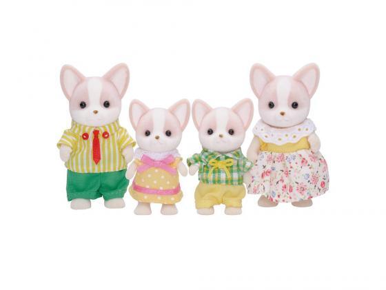 Игровой набор SYLVANIAN FAMILIES Семья Чихуахуа 4 предмета 3149 игровая фигурка sylvanian families набор семья белых мышей