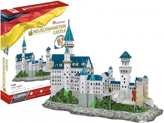 Пазл 121 элемент CubicFun Замок Нойшванштайн MC062h-2 пазл замок нойшванштайн рыжий кот 1000 деталей