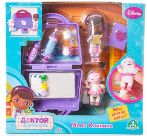 Игровой набор Disney Доктор Плюшева Мини клиника 90119 доктор плюшева игровой набор с куклой время осмотра цвет халата сиреневый