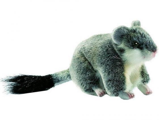 Мягкая игрушка хомячок Hansa Хомячок джунгарский 12 см серый плюш 4834 4moms электронное mamaroo 3 0 серый плюш