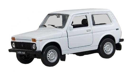 Автомобиль Welly LADA 4x4 1:34-39 цвет в ассортименте 42386 welly lada 2108 1 34 39