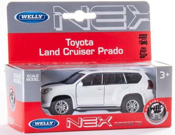 Автомобиль Welly Toyota Land Cruiser Prado 1:34-39 цвет в ассортименте 43630 машины welly модель машины 1 34 39 toyota land cruiser prado