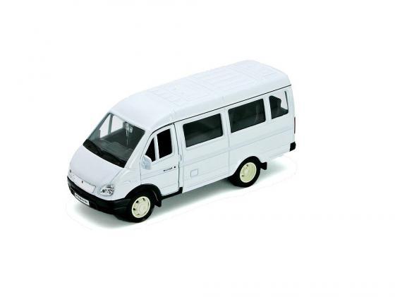 Автомобиль Welly ГАЗель фургон с окном 1:34-39
