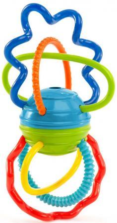 Развивающая игрушка Oball Разноцветная гантелька 81508 погремушки amico развивающая игрушка гантелька ферма