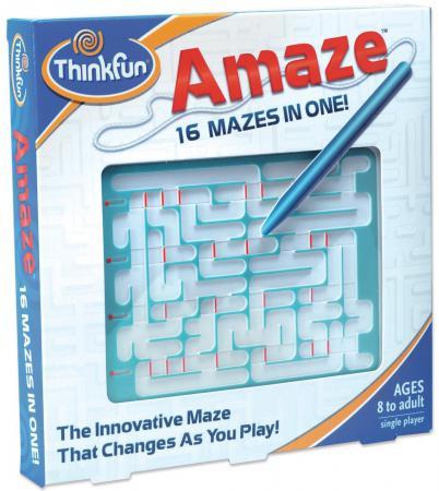 Игра-головоломка ThinkFun Лабиринт Amaze от 8 лет 2032 thinkfun кубическая головоломка tipover