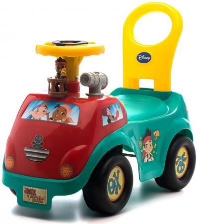 Каталка-машинка Kiddieland Джек и пираты пластик от 1 года музыкальная разноцветный 050203 kiddieland радиоуправляемая машинка kiddieland пожарная машина