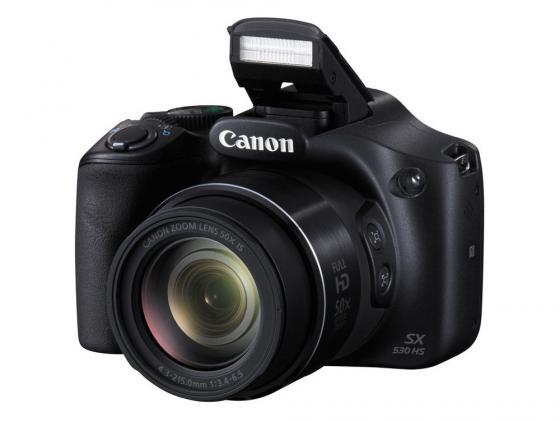 Цифровая фотокамера Canon PowerShot SX530 HS черный 9779B002