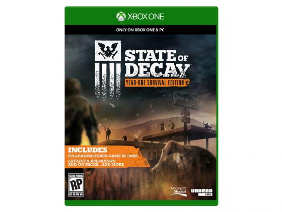 Игра для Xbox One State Of Decay 4XZ-00020 state of decay year one survival edition