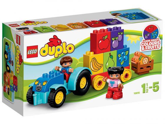 Конструктор LEGO Duplo Мой первый трактор 12 элементов 10615 конструктор lego duplo лошадки 20 элементов 10806