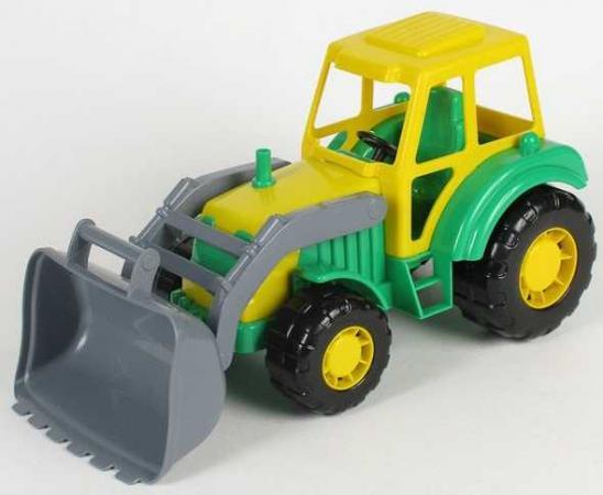 Трактор Полесье Трактор погрузчик Алтай разноцветный 154424 конструктор металлический грузовик и трактор 345 элементов