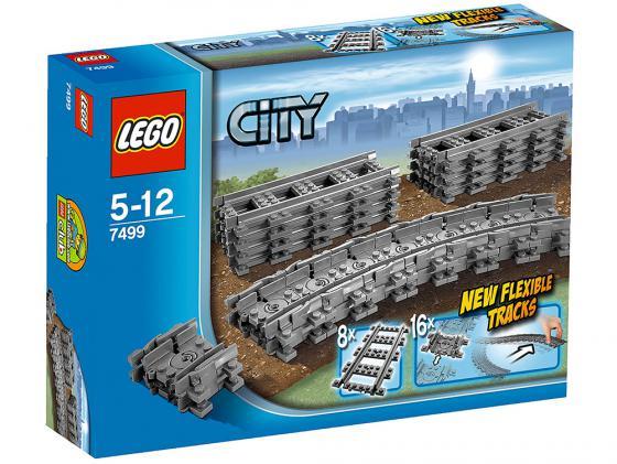 Конструктор Lego Город Гибкие пути 24 элемента 7499