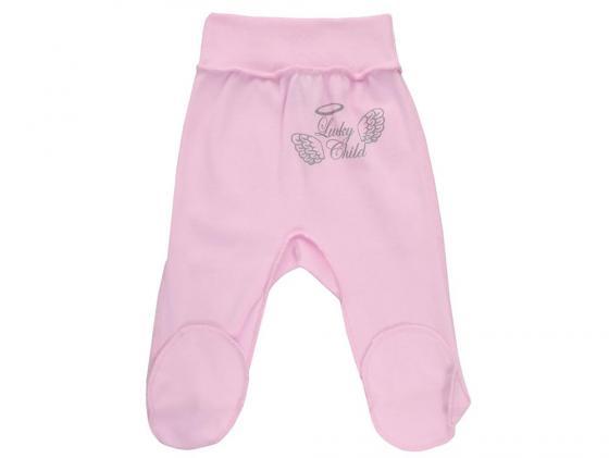 Ползунки детские (арт. 17-4 розовый) (размер 20 (62-68)) ползунки на широком поясе lucky child ангелы цвет розовый 17 4 размер 68 74