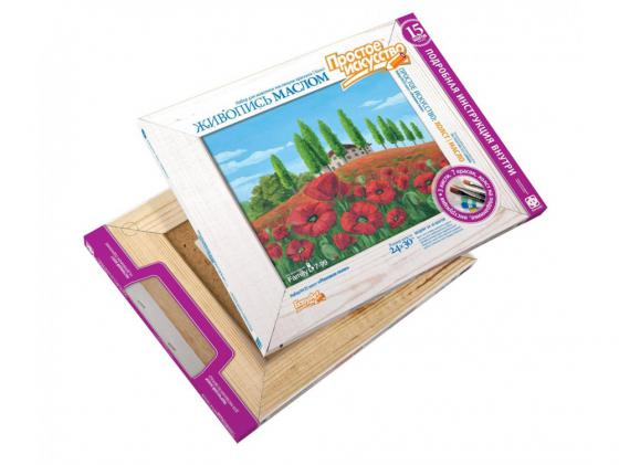 Набор для живописи Фантазёр Маковое поле №23 737023 фантазёр вышивка фантазёр 5