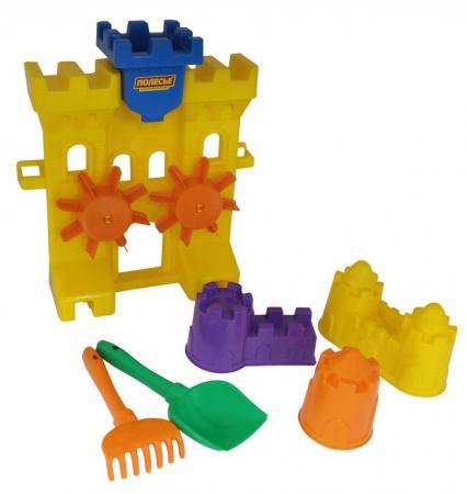 Песочный набор Полесье №466 6 предметов 45102 дополнительный набор lego education построй свою историю космос 45102 6