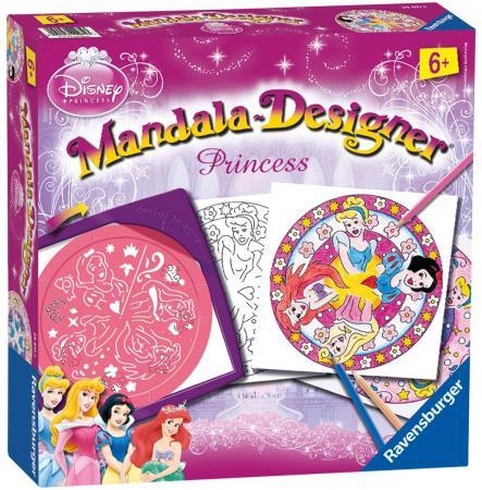 Набор для творчества Ravensburger Мандала - Принцессы от 6 лет 29971 набор для творчества ravensburger мода мандала 2 в 1 от 6 лет