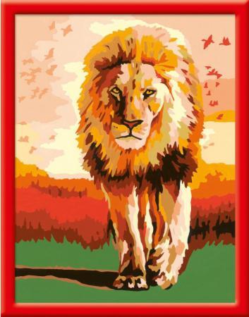 Набор для творчества Ravensburger Раскрашивание по номерам Гордый лев от 9 лет ravensburger ravensburger раскрашивание по номерам тигренок