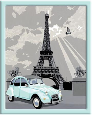 Набор для творчества Ravensburger Раскрашивание по номерам Париж от 14 лет ravensburger раскрашивание по номерам дельфины