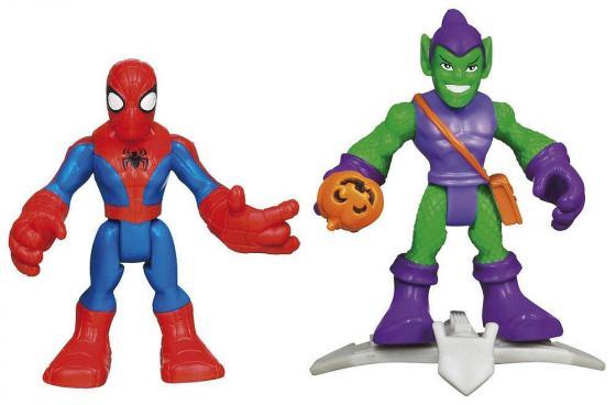 Игровой набор Hasbro Spider-man 37929 пластилин spider man 10 цветов