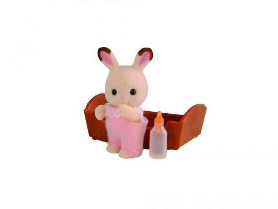 Игровой набор Sylvanian Families Шоколадный Кролик 3 предмета 3410