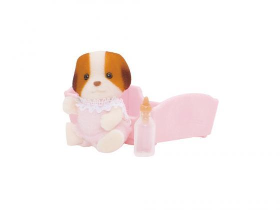 Игровой набор Sylvanian Families Малыш Щенок 3 предмета 3416 фигурки игрушки sylvanian families набор малыш щенок