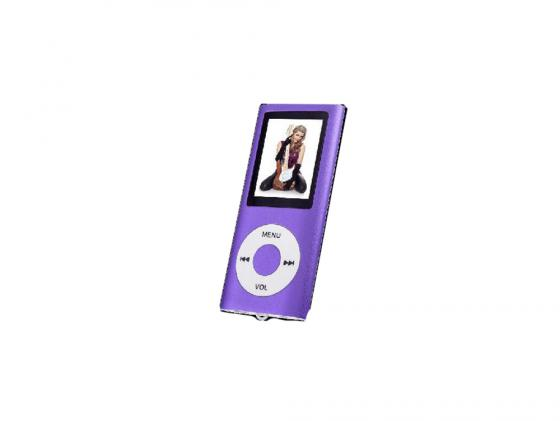 Плеер Perfeo VI-M011 фиолетовый mp3 плеер perfeo music i sonic fuchsia vi m011 fuchsia