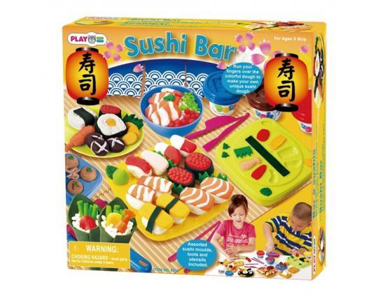 Набор для лепки PLAYGO Суши бар ролевые игры playgo игровой набор для приготовления хот догов делюкс