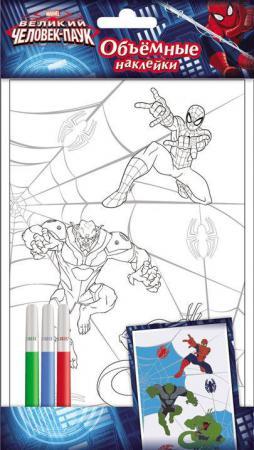 Наклейки объемные Disney Человек-паук 00553 наклейки объемные disney человек паук 00553