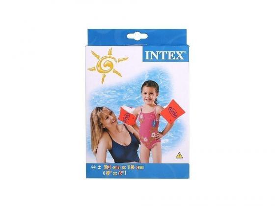 Нарукавники INTEX DELUXE 23*15 см, 3-6 лет 58642 круги и нарукавники для плавания intex нарукавники 25х17 см