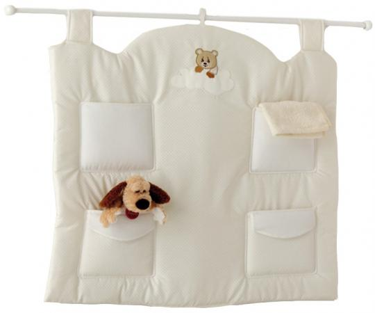 Настенный карман Baby Expert Abbracci-Trudi полиэстер бежевый baby expert настенный карман baby expert perla gold