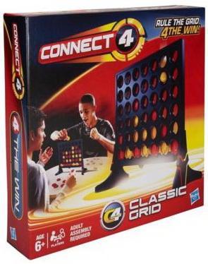 Настольная игра логическая HASBRO Собери 4 Решетка 98779 наборы для рисования лавка чудес развивающая игра собери и раскрась истребитель
