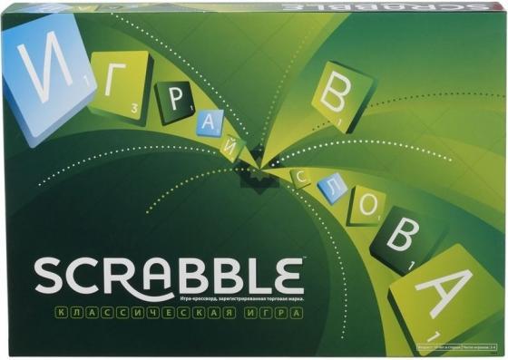 Настольная игра развивающая MATTEL Scrabble (Скрэббл) Классический Y9618 настольная игра scrabble классический