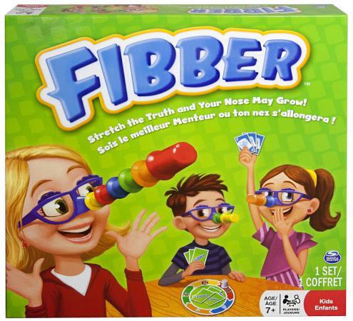 Настольная игра логическая SPIN MASTER Fibber 20063258 игра настольная spin master spin master mp002xc005zn