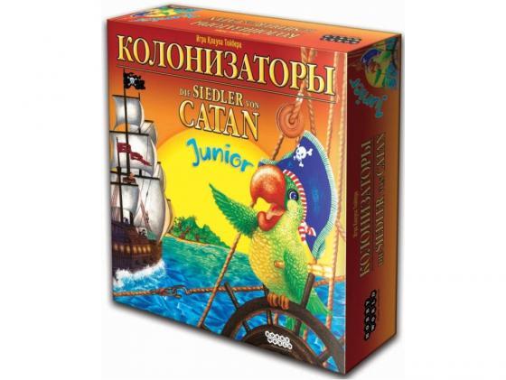 Настольная игра развивающая Мир хобби Колонизаторы Junior игра настольная колонизаторы европа