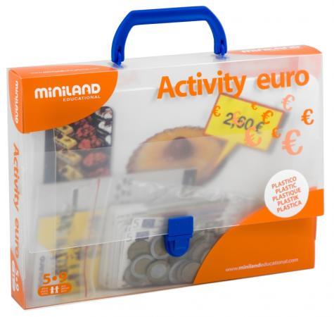 Настольная игра развивающие Miniland Euro 31916 магнитная игра развивающие miniland магнитные буквы заглавные 64 элемента 97925