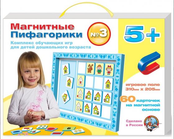Магнитная игра обучающая Десятое королевство Пифагорики №3 1498 корвет обучающая игра удивляйка 1