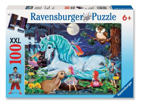Пазл 100 элементов Ravensburger Зачарованный лес 10793 пазл ravensburger сейшелы 1500 элементов