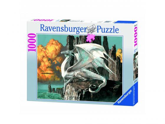 Пазл Ravensburger Белый дракон 1000 элементов ravensburger ravensburger 1000