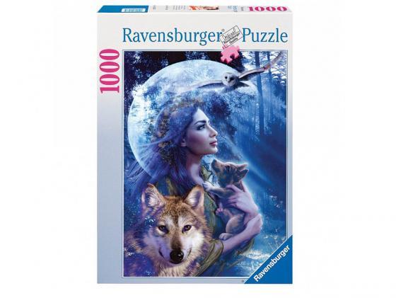 Пазл Ravensburger Богиня волков 1000 элементов ravensburger ravensburger 1000