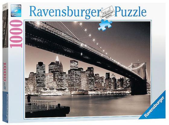 Пазл Ravensburger Бруклинский мост  1000 элементов пазлы ravensburger пазл бруклинский мост 1500 элементов