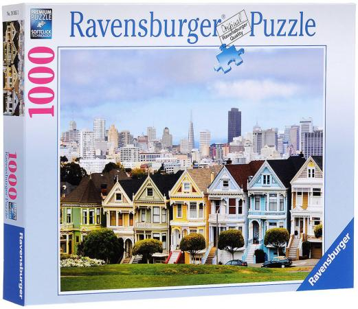 Пазл 1000 элементов Ravensburger Викторианские дома Сан-Франциско 193653