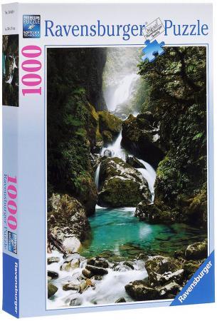 Пазл Ravensburger Водопад Маккей Новая Зеландия 1000 элементов пазл ravensburger сейшелы 1500 элементов