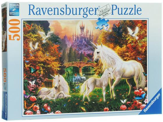 Пазл Ravensburger Волшебные единороги 500 элементов ravensburger пазл волшебные единороги 500 деталей