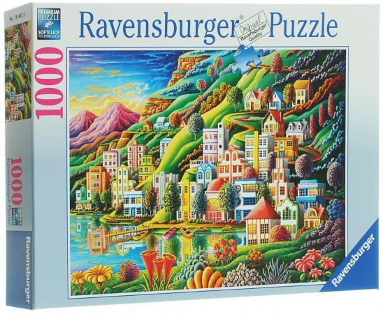 Пазл Ravensburger Волшебный город 1000 элементов пазл ravensburger ravensburger пазл 1000 элементов лондон в картинках